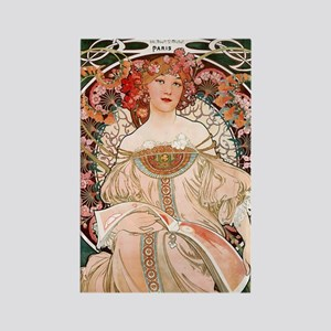 mucha-f._champenois_imprimeur Rectangle Magnet